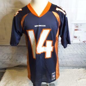 3/$15 Reebok Broncos Griese #14 vintage jersey M